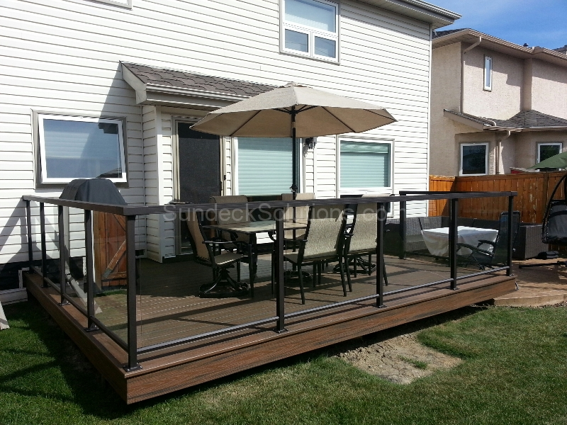 aluminum decking calgary | Maintenance Free Decking - Calgary Vinyl Decking